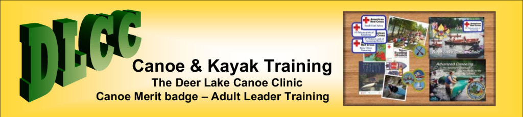 Deer Lake Canoe Clinic Training Masthead